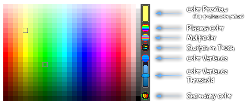 Scribblify Color Picker Overview