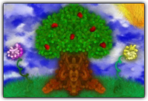 Scribblify  Artwork of Apple Tree